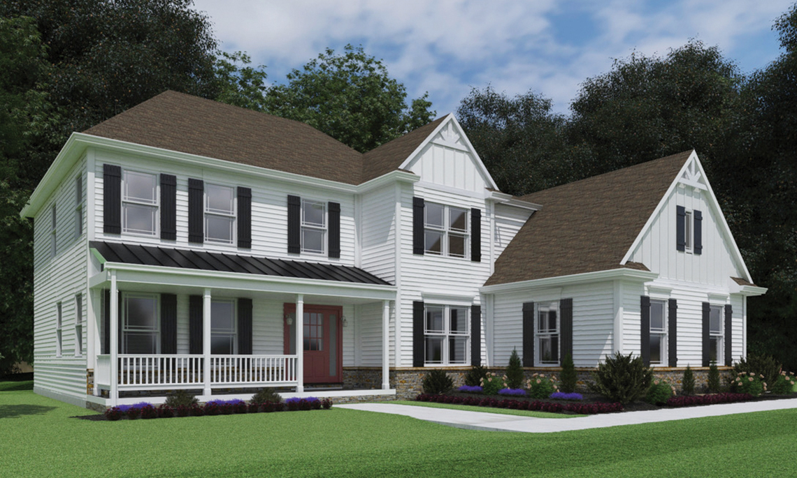 Marshall - Rendering of customized home